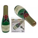 Felfújható pezsgősüveg, kb. 73 cm