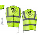 wholesale Car accessories: Neon Yellow Safety Vest, Men at work, Drunken Peop