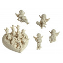 grossiste Figurines & Sclulptures: 96 anges en  polyresine avec  coeur, sur ...