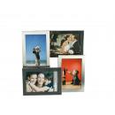 wholesale Pictures & Frames: 3D aluminum picture frame for 4 photos 10 x 15 cm