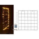 groothandel Lichtketting: Metalen wandrooster met 40 LED-lichtkettingen