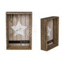 Wooden picture frame, Pure Style, 10 x 15 cm