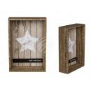 Cornice in legno, stile Pure , 10 x 15 cm