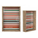 wholesale Home & Living: Wooden picture frame, Pure Style, 13 x 18 cm