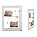 wholesale Laundry: Wooden frame, clothesline, approx. 48 x 38 ...