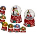 wholesale Snow Globes: Polyresin snow globe, Santa Claus & snowman