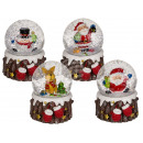 wholesale Snow Globes: Polyresin snow globe with Christmas figure