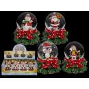 grossiste Boules de neige: globe de neige de  Polyresin, Père Noël figure sur