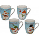 wholesale Houshold & Kitchen: New bone china mug, snowman