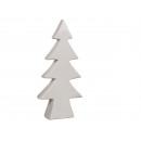 Blanco árbol de navidad de cerámica, de unos ...