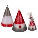 Candle, Santa Claus & snowman assorted