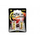 Alkaline Micro Battery, Reflexx, AAA, 1.5V, 4 Fwd