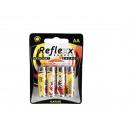 grossiste Maison et cuisine: Piles Alkaline  Mignon, Reflexx, AA,  1,5V, 4 pces
