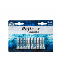 mayorista Baterias y pilas: Micro batería alcalina Reflexx, AAA, 1,5 V, 10 St