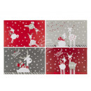 wholesale Home & Living: Polypropylene placemat, reindeer, approx. ...