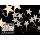 wholesale Light Garlands: Fairy lights, stars, with 10 warm white LEDs, ...
