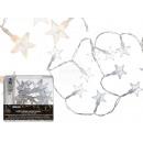 groothandel Lichtketting: Lights, kleine sterren, met 10 warm witte LED