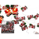 wholesale Light Garlands: Christmas lights, Santa Claus, with 10 LEDs