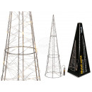 wholesale Drugstore & Beauty: Metal cone with 30 warm white LED, approx. 60 cm,