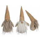 mayorista Casa y decoración: Gnome de tela, aproximadamente 25 x 10 cm, surtido