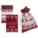 Plastic Bag Christmas Gift
