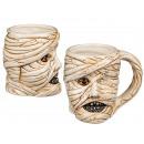 Ceramic mug, mummy, approx. 14.5 x 11.5 cm