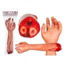 Plastic horror arm, ongeveer 45 cm, 2-weg gesortee