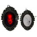 Plastic horror mirror with light & sound