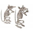 Halloween figure, rat skeleton, about 17 cm