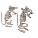 Halloween-Figur, Rattenskelett, ca. 17 cm