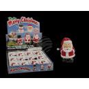 Wind-up, hardlopen plastic kerstman,