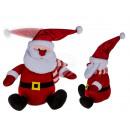 Plush Santa Claus with dancing cap (incl