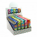 wholesale Lighters: Lighter colored assorted print: `THANK YOU` about
