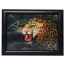 3D image leopard approx. 25 x 35 cm