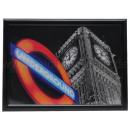 3D Bild Big Ben Underground ca. 50 x 70 cm