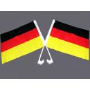 Großhandel Geschenkartikel & Papeterie:Autoflagge Deutschland