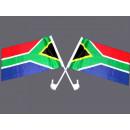 Autoflagge Südafrika