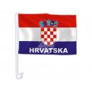 Autoflagge Kroatien