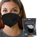 FFP2 Atemschutzmaske Mundschutz Atemmaske schwarz