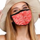 Mundschutz Atemschutzmaske mit Motiv Paisley