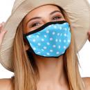 Mouthguard respirator with motif dots dots