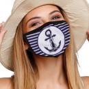 Mouthguard respirator with anchor anchor maritime