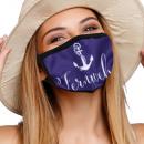Mundschutz Atemschutzmaske mit Motiv Anker