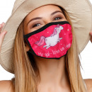 Mouthguard respirator with motif I don't care