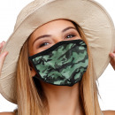 wholesale Drugstore & Beauty: Mouthguard respirator with motif Camouflage
