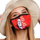 Mouthguard respirator with motif cities name
