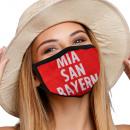 Mouthguard with a Mia San Bayer motif