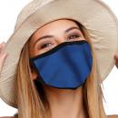 nagyker Drogéria és kozmetika: Szájvédő légzőmaszk sima kék mintával