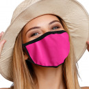 Mouthguard breathing mask with motif plain pink