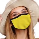 nagyker Drogéria és kozmetika: Szájvédő légzőmaszk sima sárga mintával